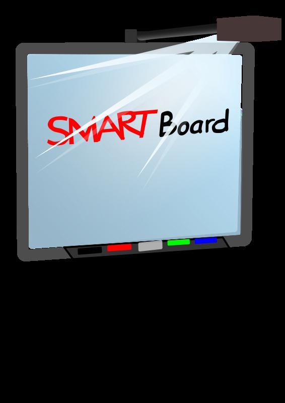 Free Clipart: Smartboard.