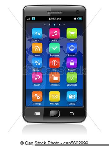 Smartphone Clipart Vector Free Images At Clker Com Clip Basic Smart.