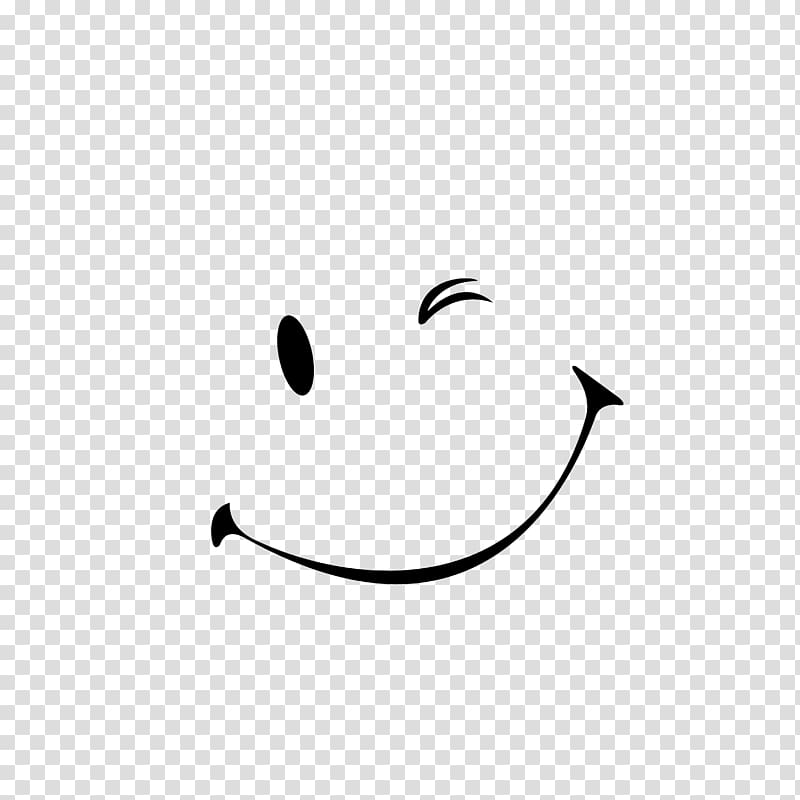 Smiley Wink Emoticon Face, mouth smile transparent.