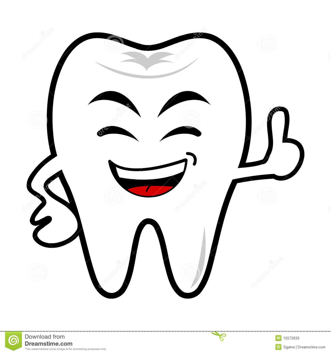 Smile Teeth Clipart.