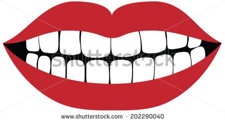 Teeth Close Up Stock Vectors, Images & Vector Art.