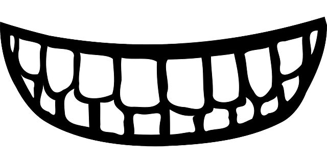 clipart smile teeth mouth #8