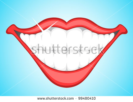 Smile Teeth Stock Images, Royalty.
