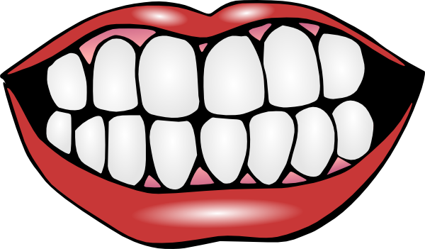Mouth And Teeth Clip Art at Clker.com.