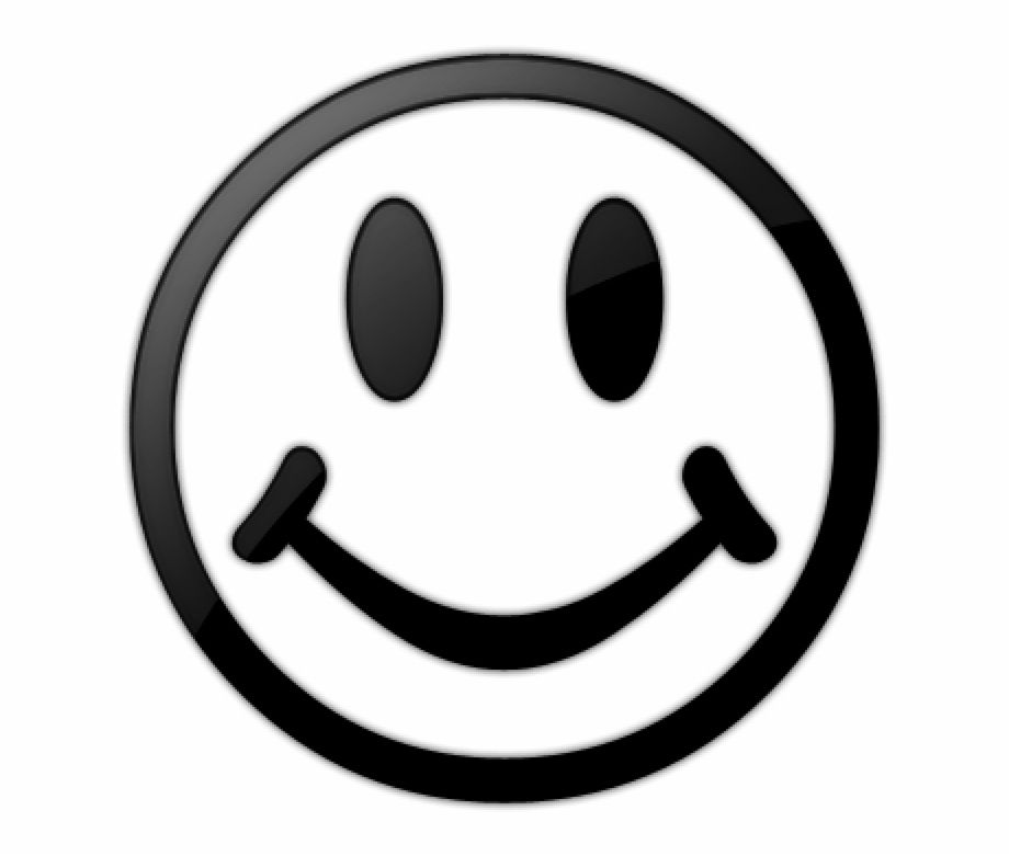 Smiley Face Clip Art Black And White Smiley Face Black.