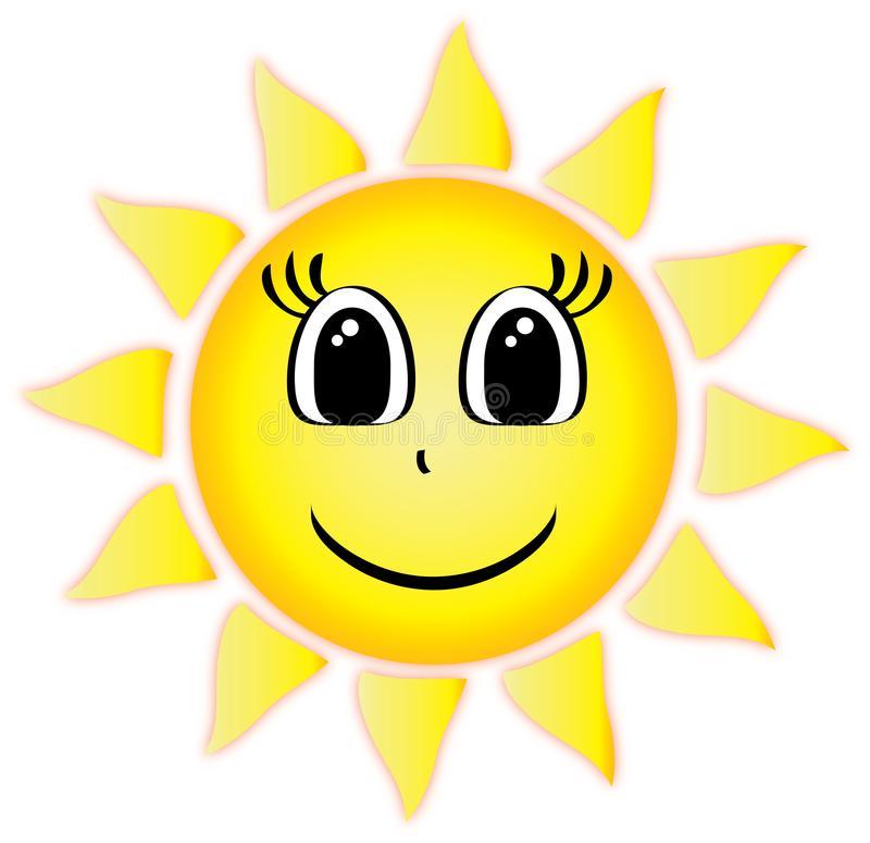 Smiley Sun Clip Art Stock Illustrations.