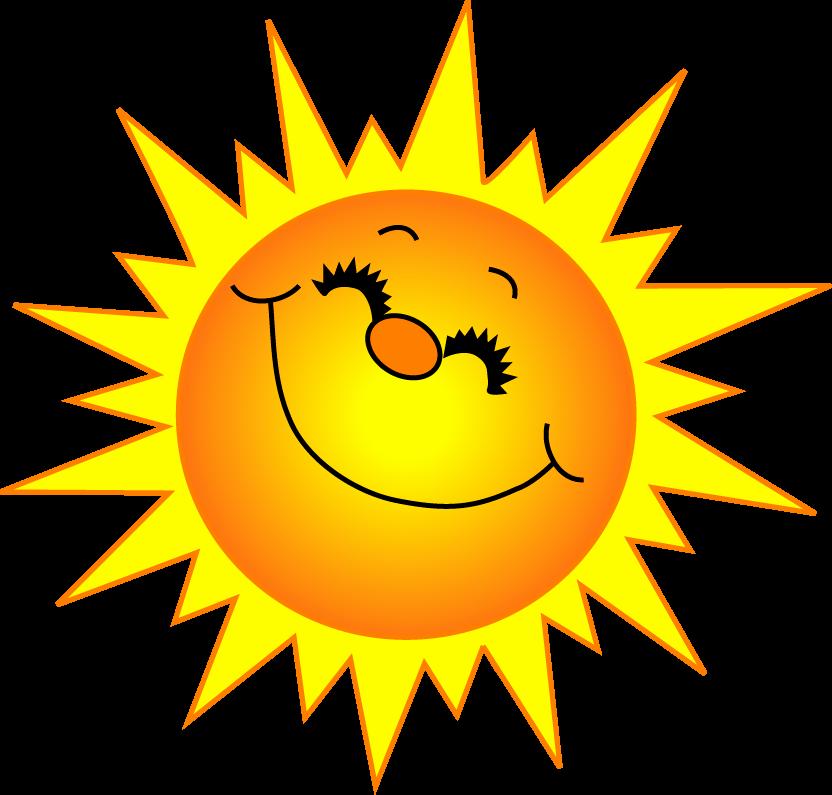 Smiling Sun Clipart.