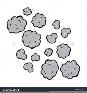 Smoke Cloud Clipart.