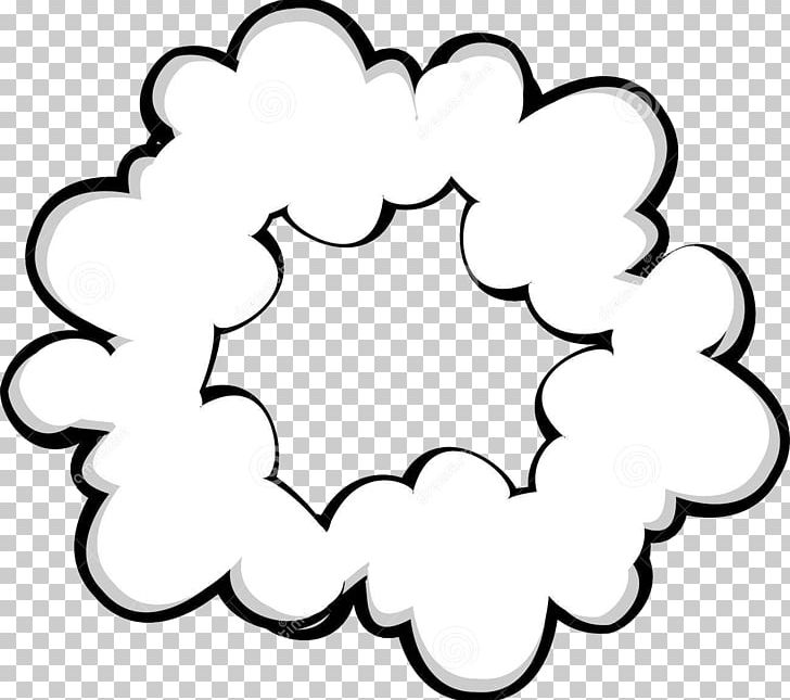Smoke Cloud PNG, Clipart, Area, Black And White, Cartoon, Circle.