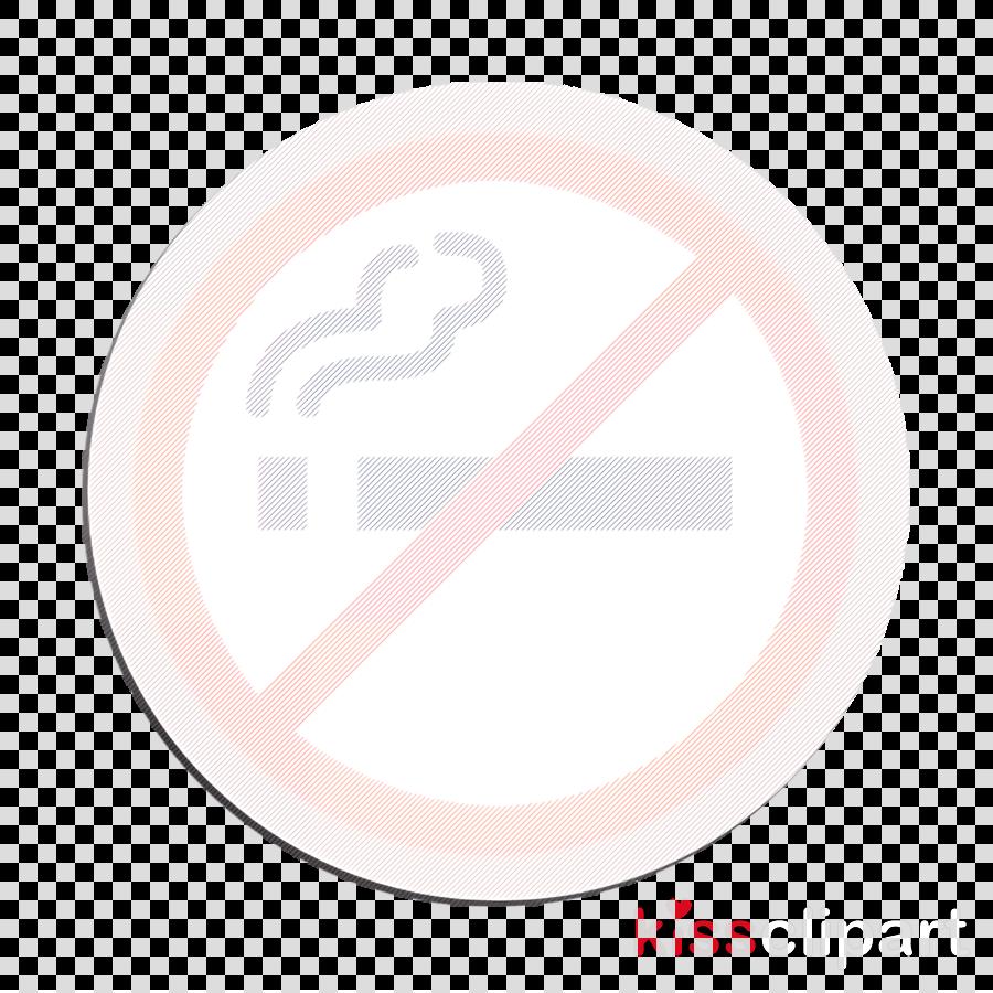 Airport icon No smoking icon Smoke icon clipart.