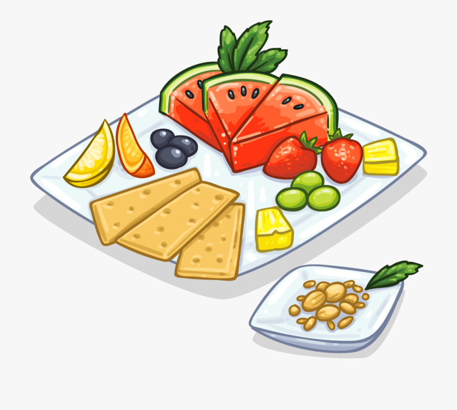 Unique Snacks Clipart 2.