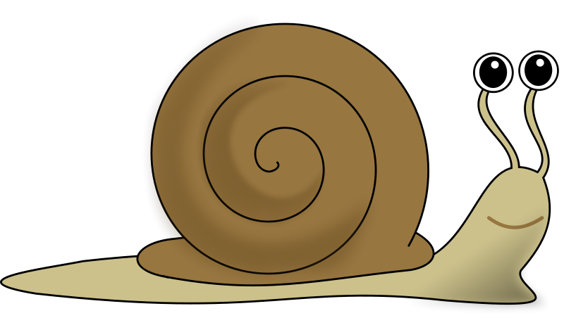 Free Clipart: Snail.