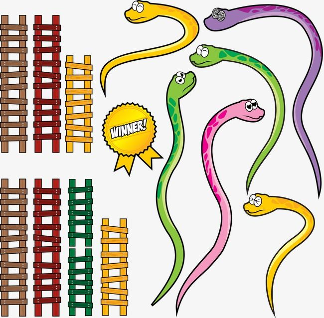 Vector Snake, Snake Clipart, Snake, Ladder PNG and Vector with.