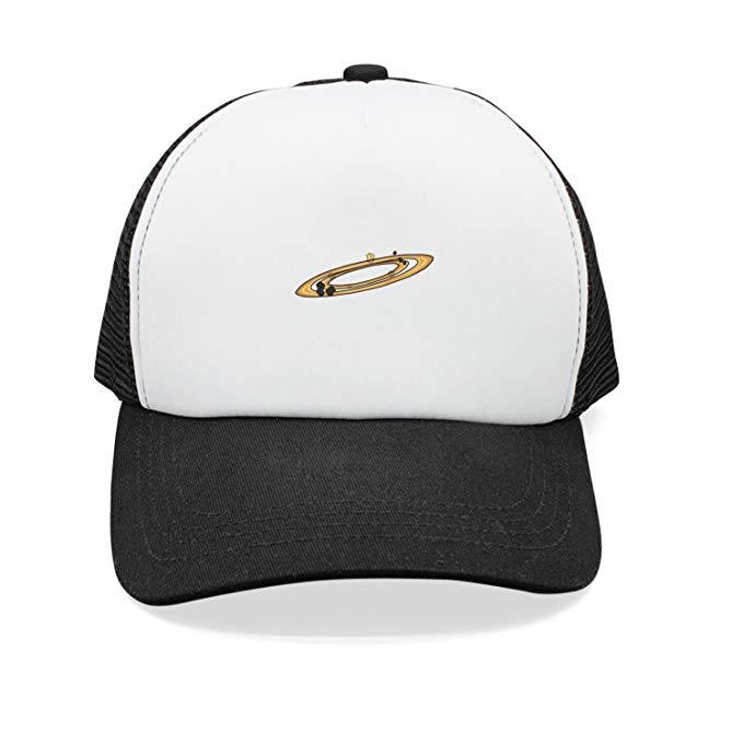 Amazon.com: Xanx Smon Mesh Snapback Hat Asteroid Belt.