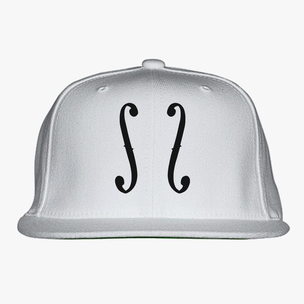 Cello Clipart Snapback Hat (Embroidered).