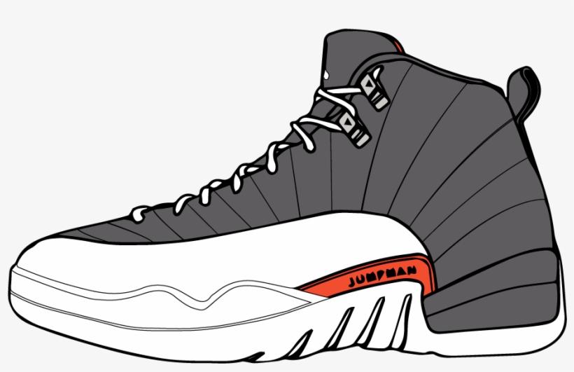 Vector Sneakers Shoe Jordan.
