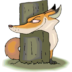 Fox Sneaky clipart, cliparts of Fox Sneaky free download.