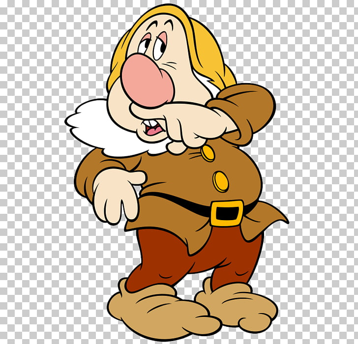 Seven Dwarfs Sneezy Dopey Bashful, Dwarf PNG clipart.