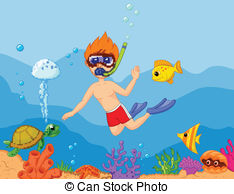 Snorkeling clipart 1 » Clipart Station.