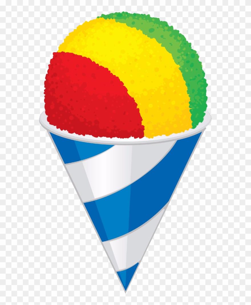 Snow Cone Clip Art.
