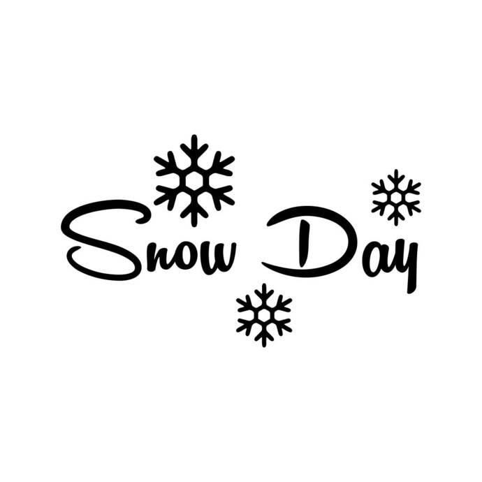 Snow Day Snowflake Christmas Phrase Graphics SVG Dxf EPS Png Cdr Ai Pdf  Vector Art Clipart instant download Digital Cut Print File Cricut.