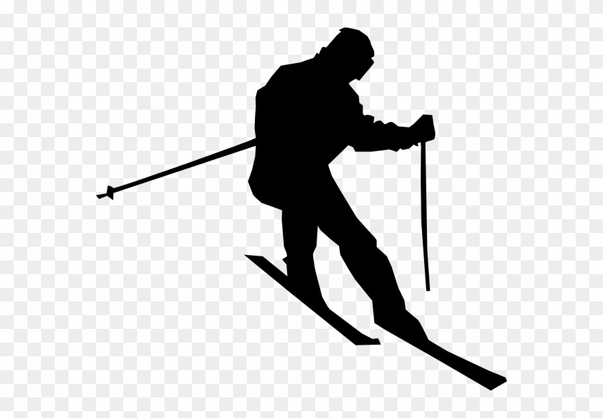 Png Free Library Cross Country Skiing Clipart.