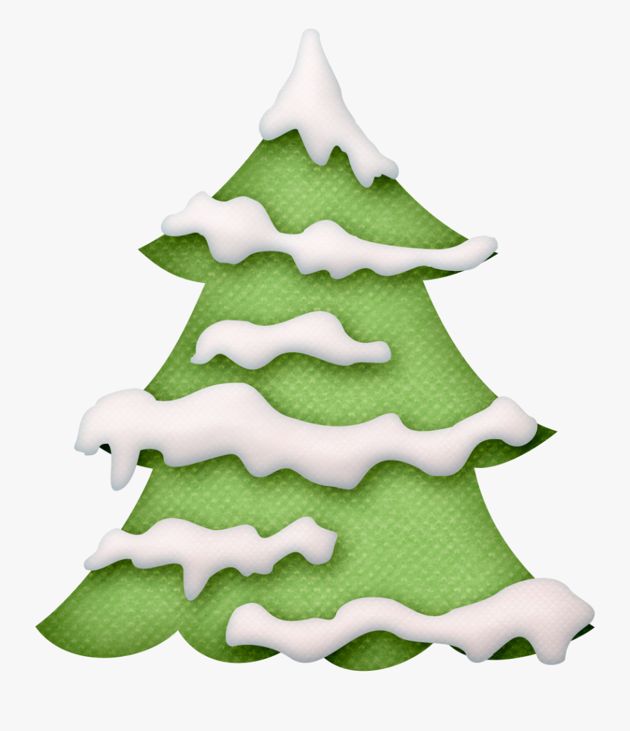 Transparent Winter Tree Clipart.