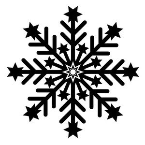 146 snowflake free clipart.