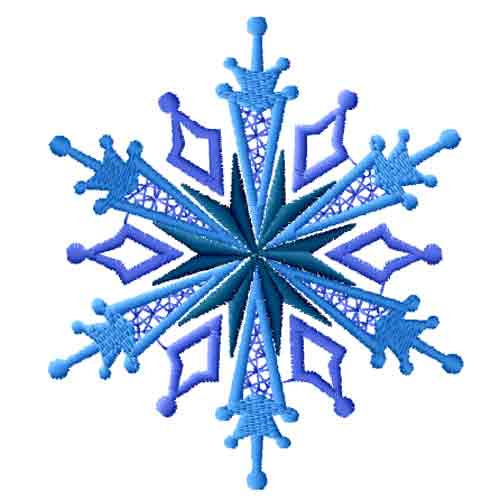 Snowflake Background Clip Art.