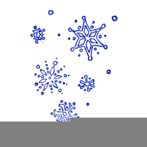 Free Clipart Snowflakes Falling.