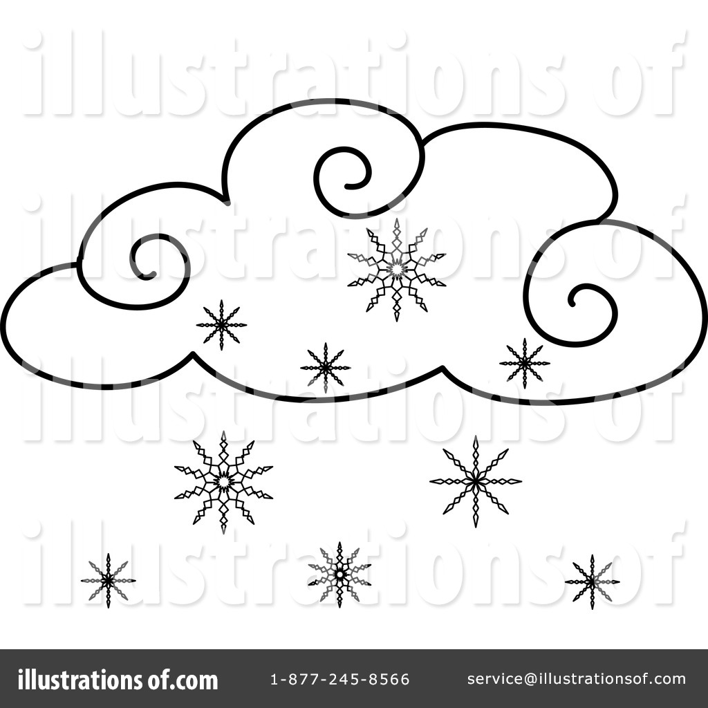 Snowing clipart 2 » Clipart Station.
