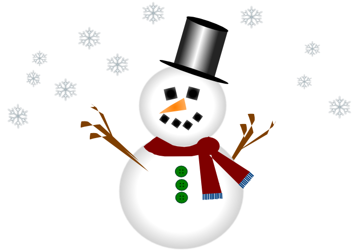 Cute Snowman Graphics and Animations.
