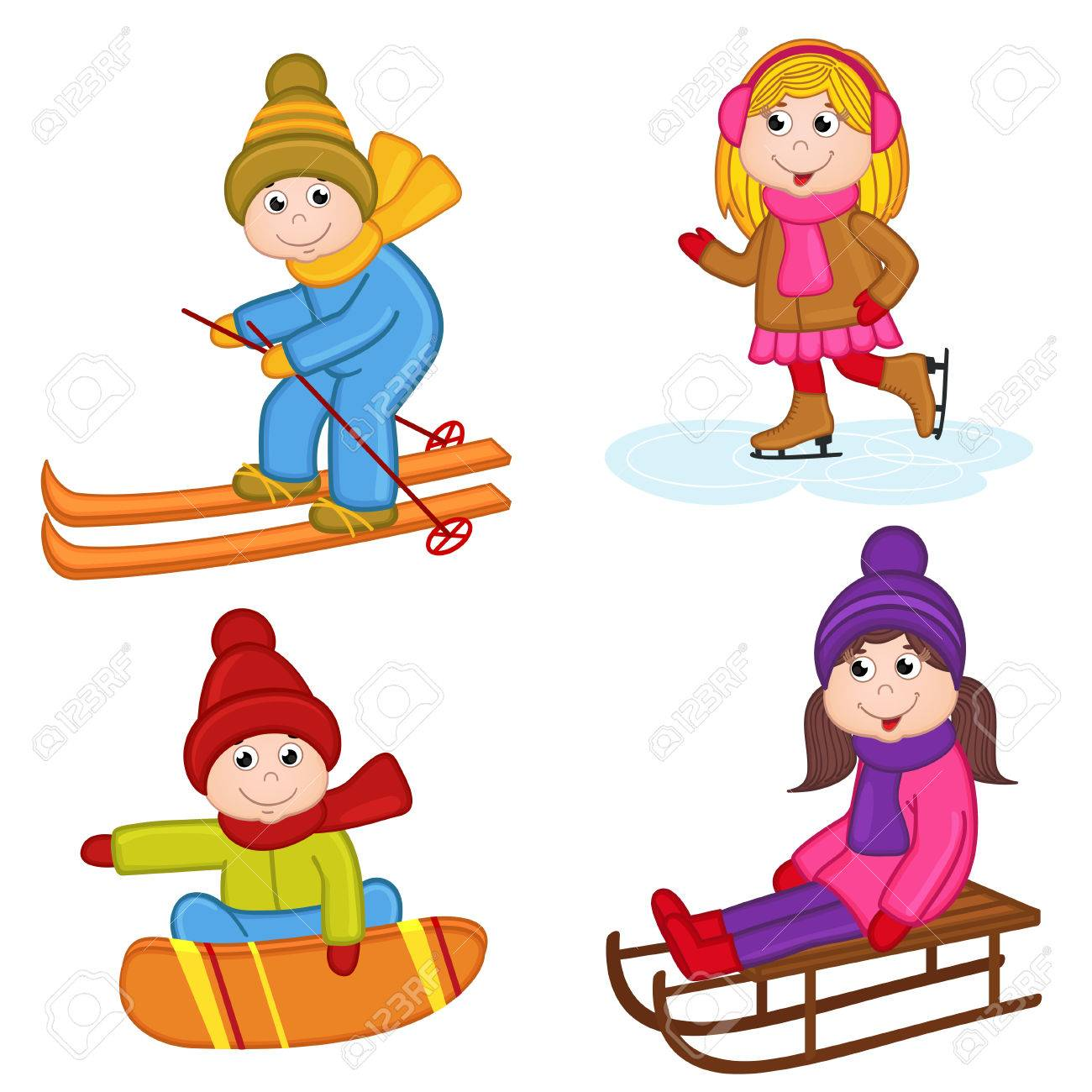 Winter Sports Clipart Free Download Clip Art.