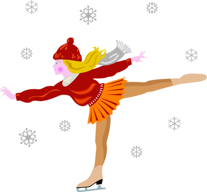 Snow Sports Clipart.