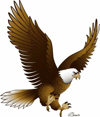 Soaring Eagle Clipart.