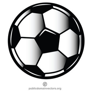 772 free vector clipart soccer ball.