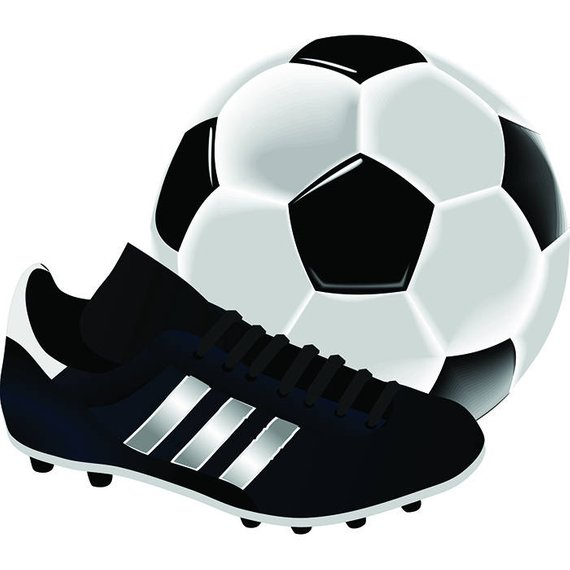 Soccer Ball And Cleats Png & Free Soccer Ball And Cleats.png.