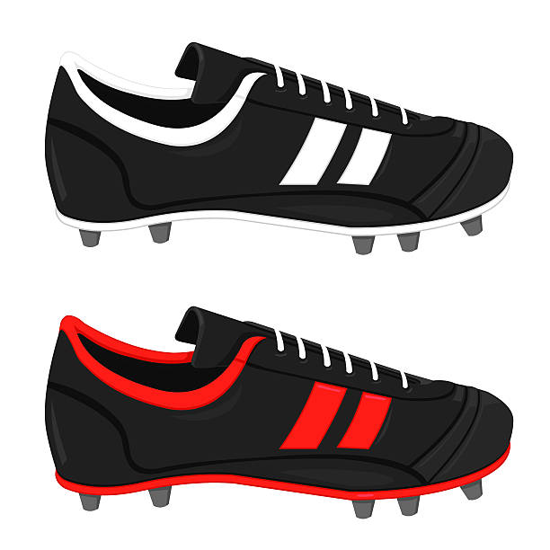 Best Soccer Cleats Illustrations, Royalty.
