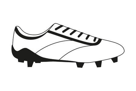 322 Soccer Cleats Shoe Stock Vector Illustration And Royalty Free.