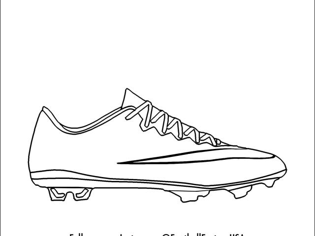 Soccer Cleats Drawing at PaintingValley.com.