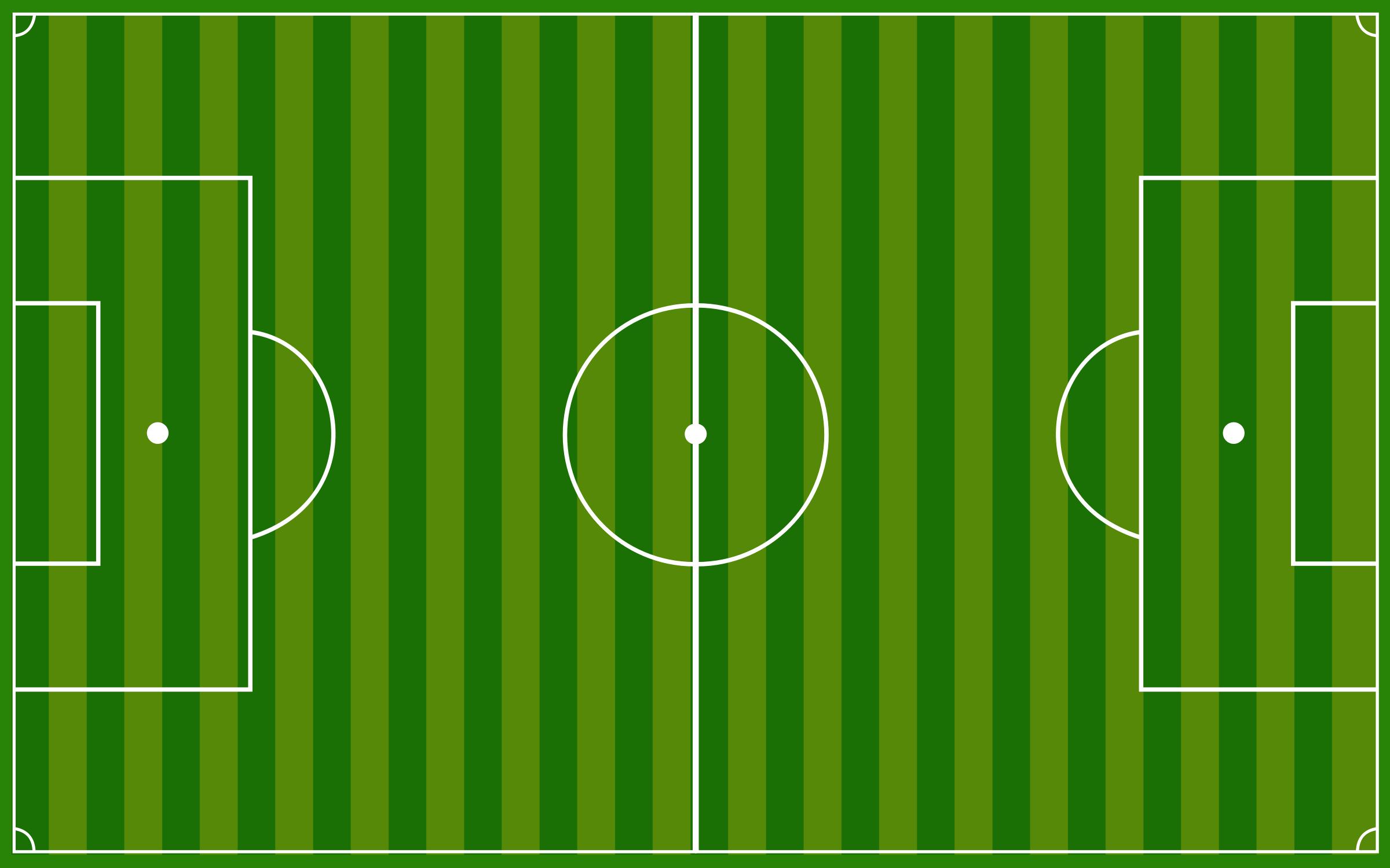 Football field clipart soccer.