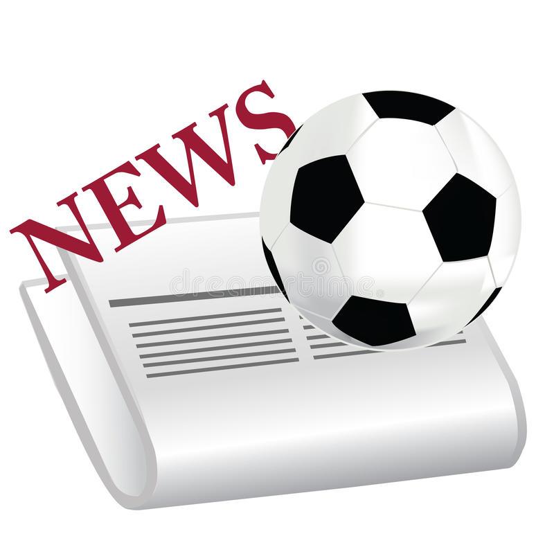 Football Headlines Stock Illustrations.