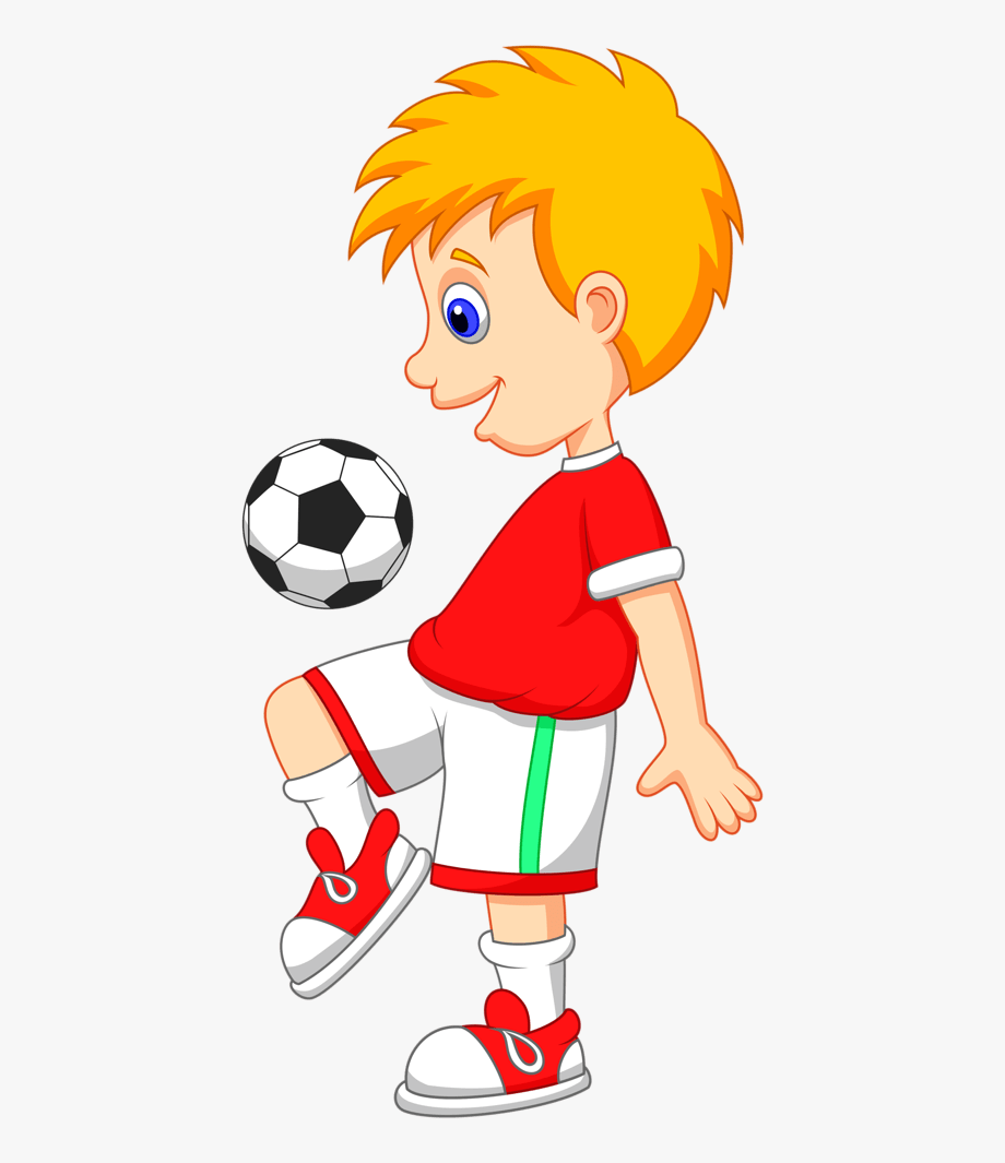 Cartoon Soccer Players Clipart 4 By Jennifer.