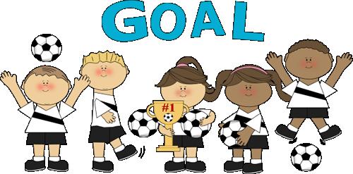 Clip Art Soccer Team.