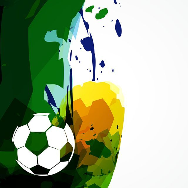 Vector Soccer Design, Abstract, Artistic, Ball PNG.