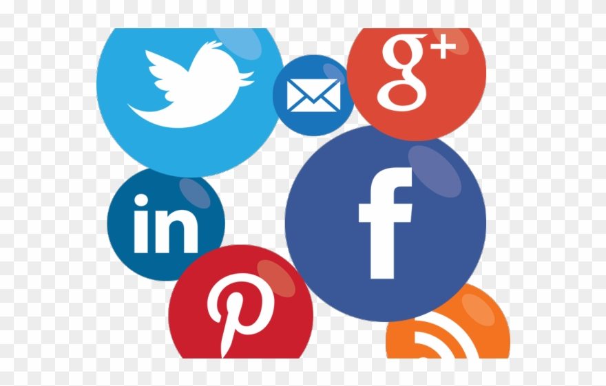 Social Media Icons Clipart Social Marketing.
