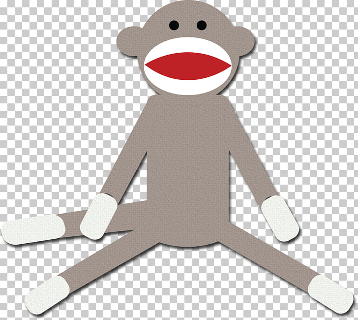 Sock monkey Drawing , socks PNG clipart.
