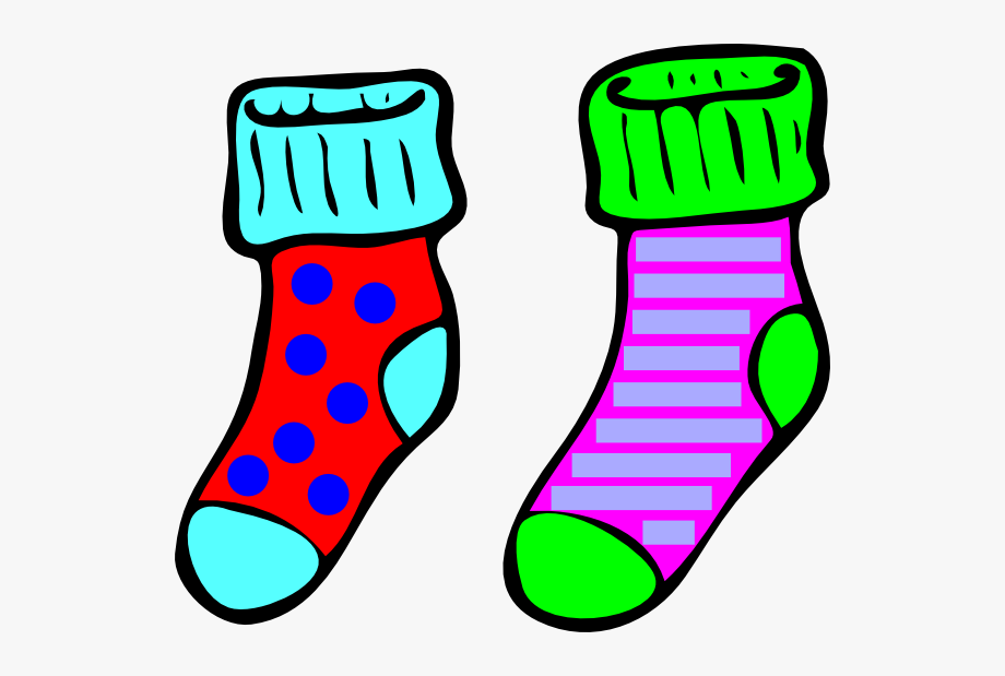 Clipart Shoes And Socks.