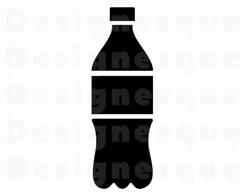 Soda Bottle SVG, Soda SVG, Soda Bottle Clipart, Soda Bottle Files for  Cricut, Soda Bottle Cut Files For Silhouette, Dxf, Png, Eps, Vector.