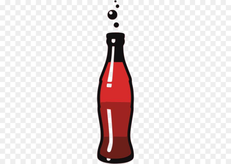 soda bottle clipart Fizzy Drinks Coca.